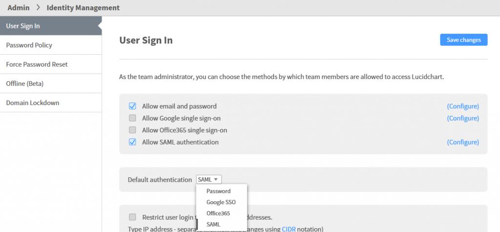 Lucidchart SAML Integration - Documentation - TraitWare, Inc